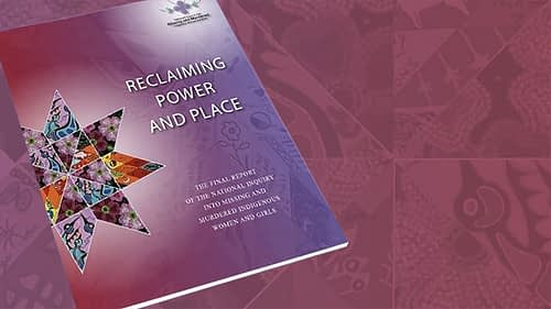 National Inquiry's Final Report: Reclaiming Power & Place