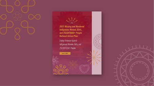 Read the National Action Plan to Address MMIWG2S+